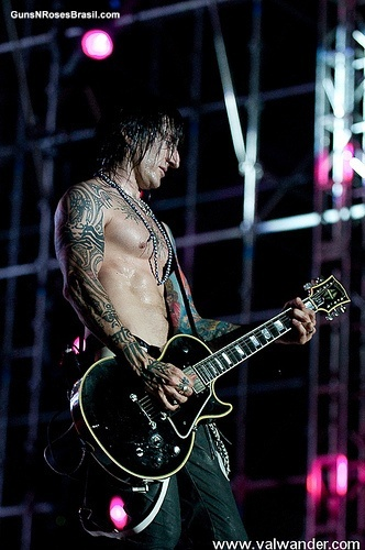 Richard Fortus - G'nR and Thin Lizzy Guitarist