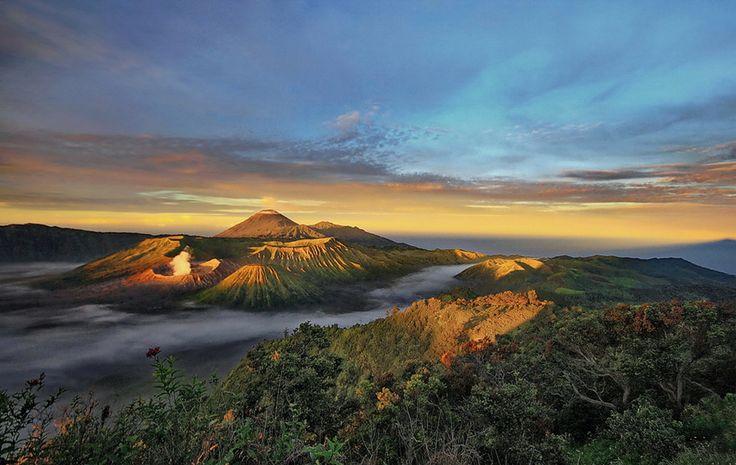 Bromo-Semeru National Park. #indonesia