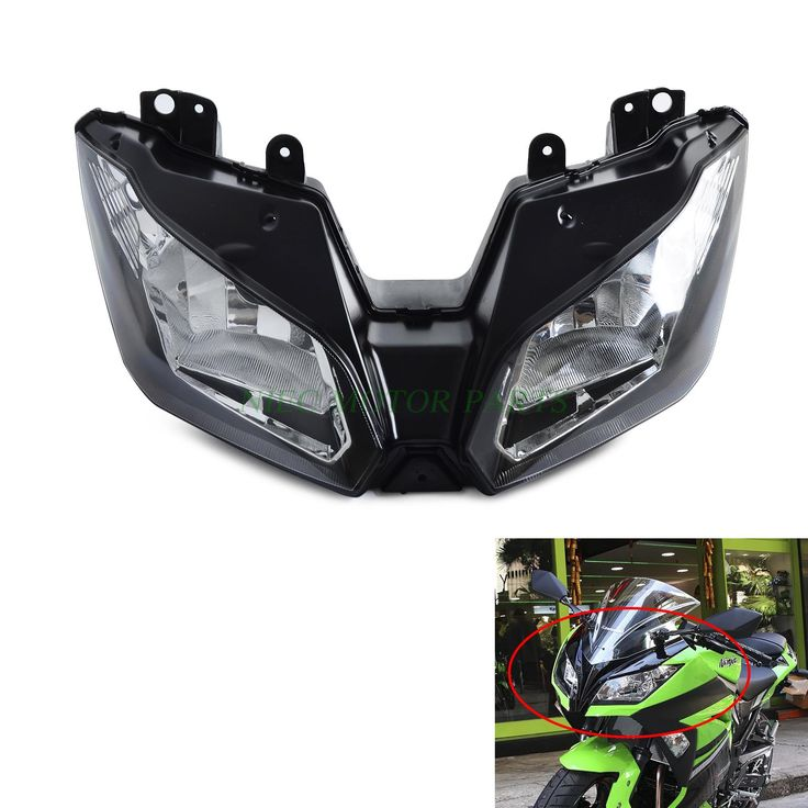 Motorcycle Headlights Headlamp Head Light Lamp Assembly For Kawasaki NINJA 300 2013 2014 2015 2016 VERSYS 650 1000 2015 2016 #Affiliate
