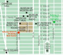 Rockefeller Center: A Complete Visitors Guide: Rockefeller Center Map