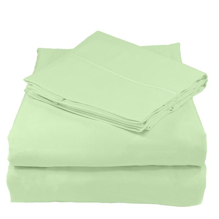 100% Organic Cotton Bed Sheet Set, 300 Thread Count