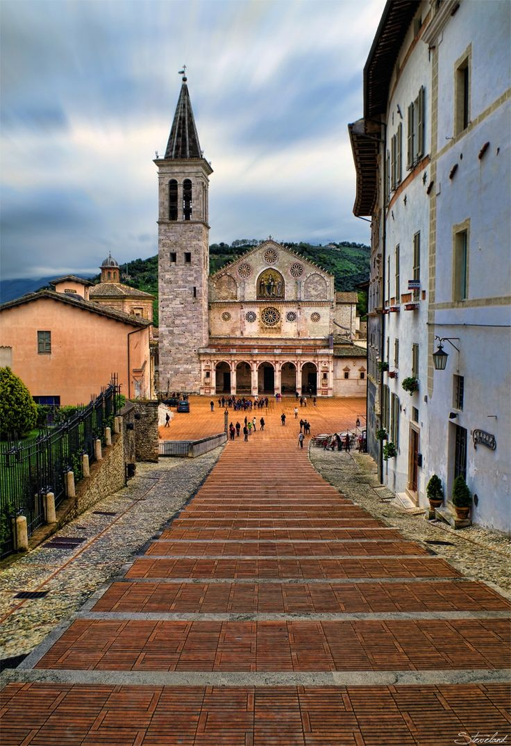 Spoleto Cathedral - Italy - by Stefano Landenna on 500px ♠