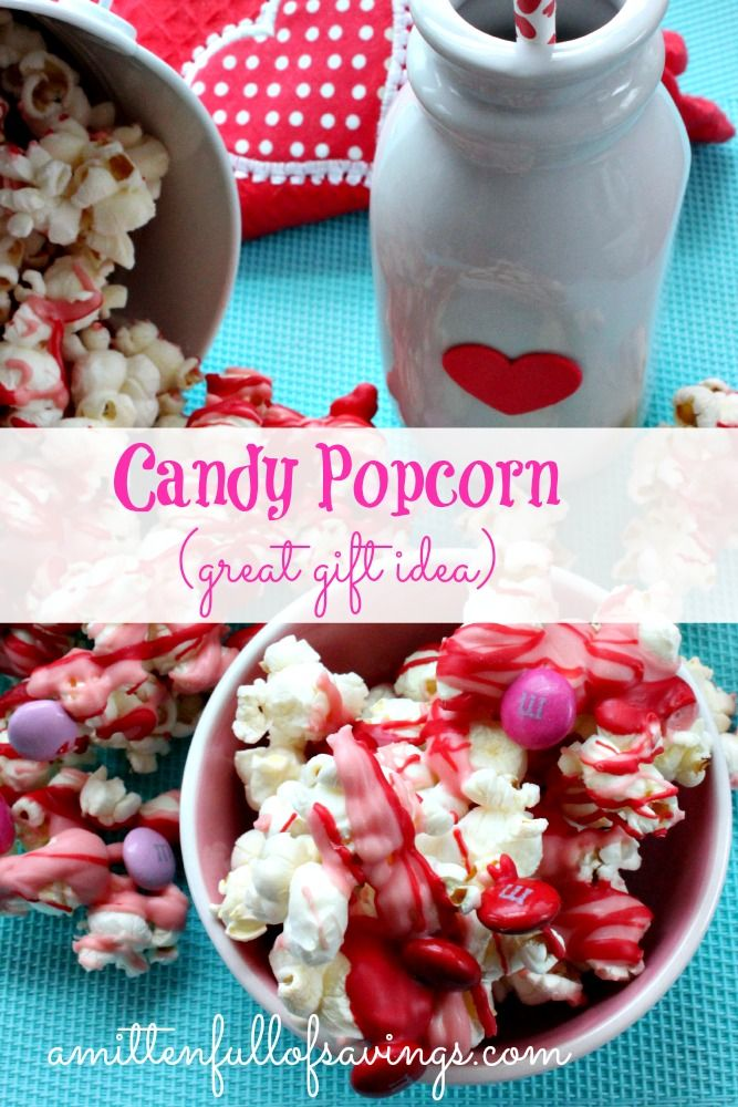 how to make candied popcorn at home