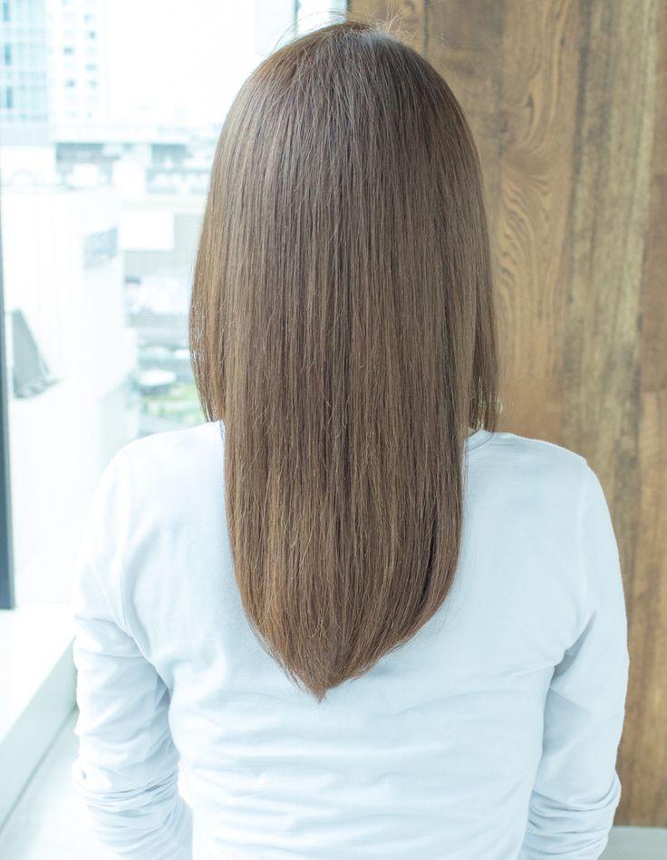 シャーベットストレート(AS-78) | ヘアカタログ・髪型・ヘアスタイル|AFLOAT(アフロート)表参道・銀座・名古屋の美容室・美容院