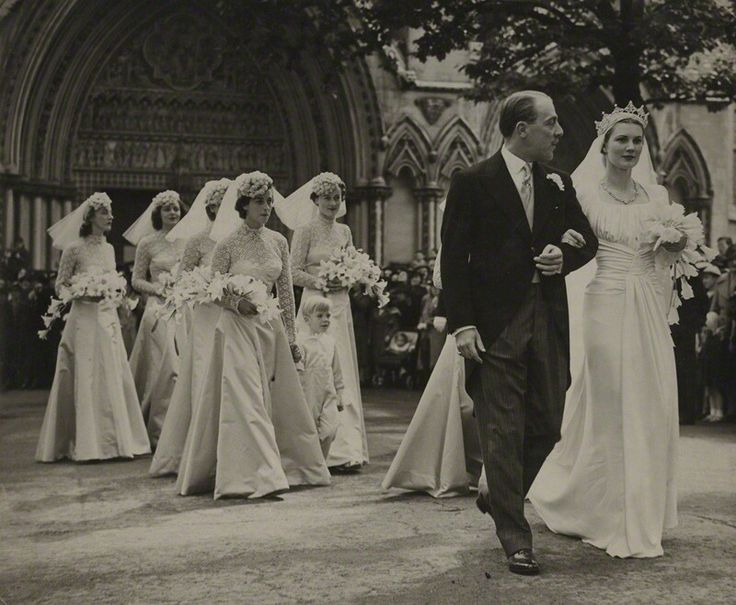 On Your Wedding Day By Unknown: Anne Pearson, Viscountess Cowdray, At Her Wedding Day