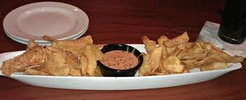 Longhorn Steakhouse Chips & Dip BBQ Sauce.     Ingredients:  3/4 cup mayonnaise   1/4 cup barbecue sauce   1 garlic clove, minced   3 tablespoons cider vinegar   1/4 teaspoon pepper   1/8 teaspoon salt  Mix well