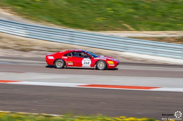 #Ferrari #308 Gr IV #Michelotto sur le #TourAuto2016 à #Dijon_Prenois. Reportage : http://newsdanciennes.com/2016/04/20/tour-auto-2016de-passage-a-dijon-prenois-on-y-etait/ #ClassicCar #VoituresAnciennes #VintageCar #MoteuràSouvenirs