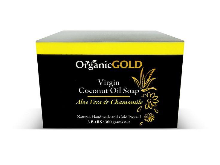 Natural and Organic Coconut Oil Soap with Aloe Vera and Chamomile Is the Best Cleanser and Deep Moisturizer – Helps Blemishes, Wounds and Sunburn for Healthy Skin (Pack of 3) * More info could be found at the image url. (Note:Amazon affiliate link)