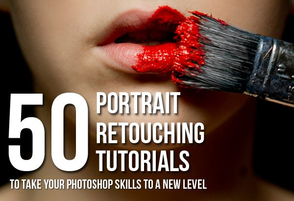 50 Portrait Retouching Tutorials To Take Your Photoshop Skills To A New Level. Photo by Mario Mayer via Photodoto