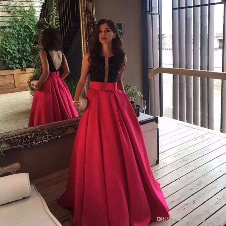 Sexy Red And Black Arabic Beaded Sequined Paty Dress 2017 Backless Long For Party Events Gowns Long Vestido De Festa Wedding Dresses In Lace A Line Dresses For Wedding Guests From Honey_qiao_shop, $148.74| Dhgate.Com