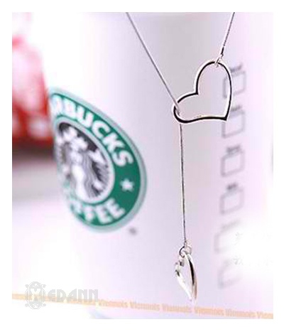 2 Way Heart Necklace - Php 120