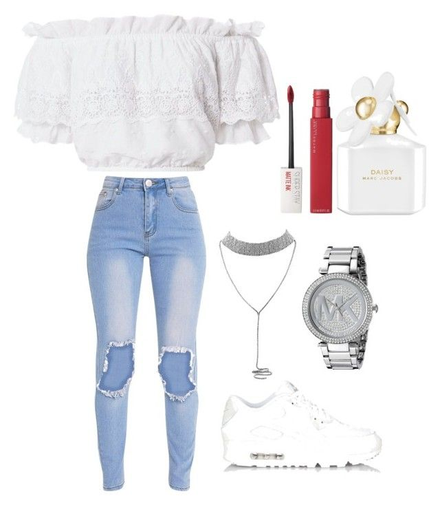 Teen Swag (Volume 1) by piercerenijha on Polyvore featuring polyvore LoveShackFancy NIKE Michael Kors Maybelline Marc Jacobs fashion style clothing