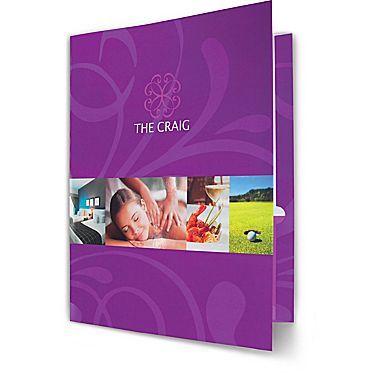 $6.00 each - Custom Presentation Folders