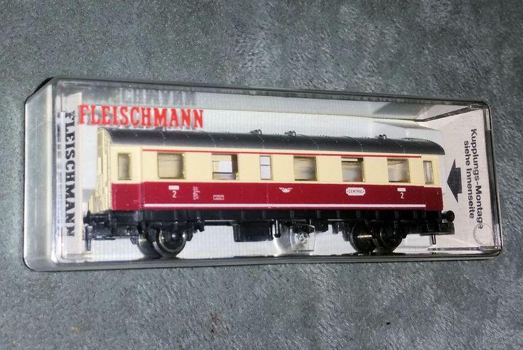 Fleischmann,  piccolo, 8064 K, Spur N,  Lokalbahnwagen 2. Kl., OVP neuw.