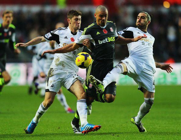 Derby City : Stoke ditahan imbang 1 - 1 Kontra Swansea City : Stoke City & Swansea City Berbagi Angka - Gol Chico Flores memastikan Swansea City