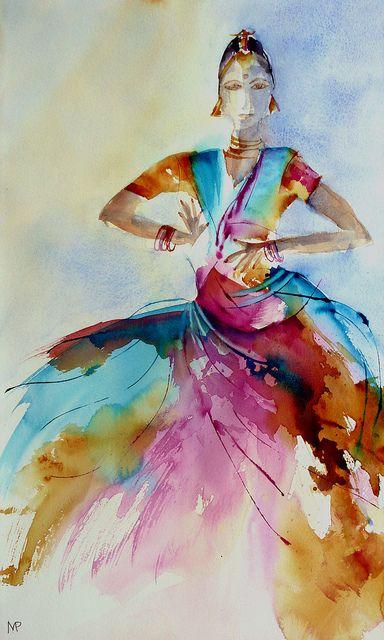 danseuse-04/dancing girl-04 by Veronique Piaser-Moyen