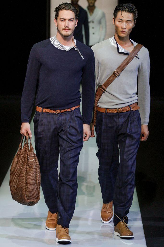 Giorgio Armani | Spring 2013 Menswear Collection | Style.com
