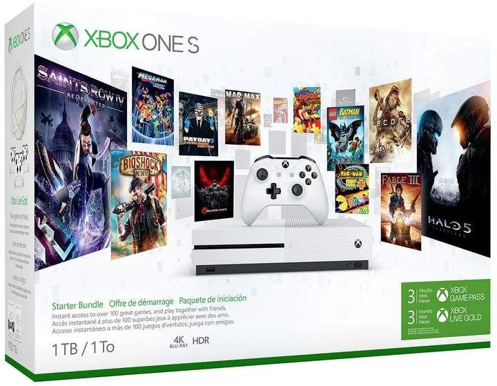 Xbox One S 1tb Starter Bundle Xbox One S 1tb Xbox One S Xbox One Console