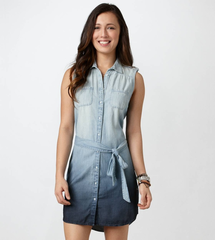 Denim Dress Fashion