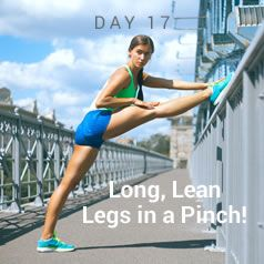 Today's workout: legs!