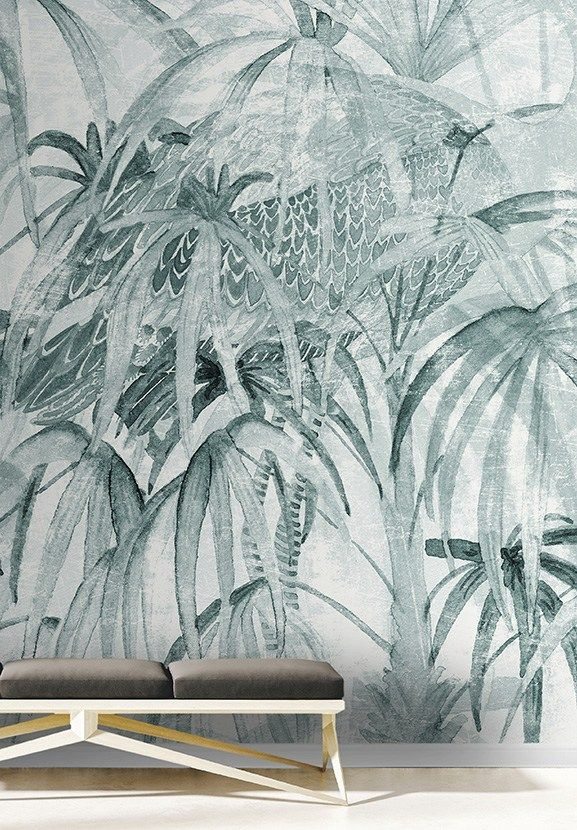 Wallpaper CHINELEAVES by Walpepper