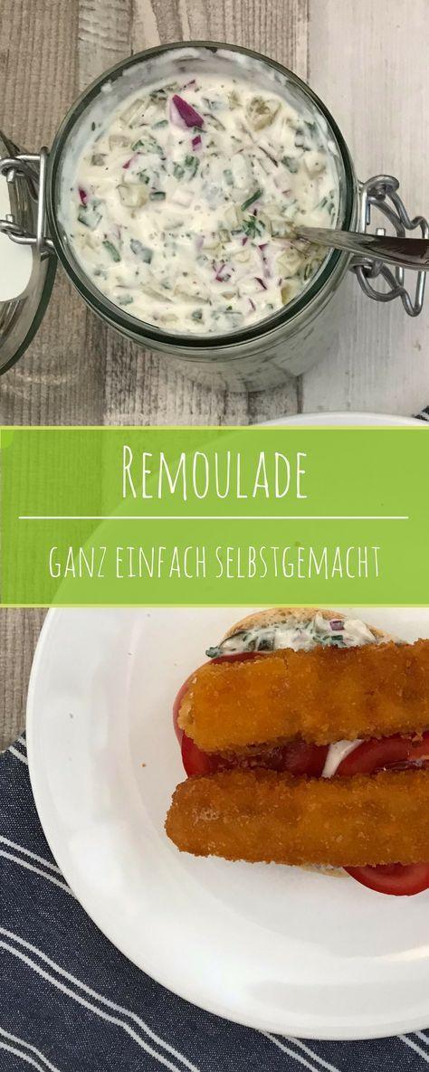 Als #Dip, #Sauce oder #Brotaufstrich - #Remoulade ist ein echter Allrounder in der Küche. Diese Version ist #selbstgemacht ohne unnötige Zusatzstoffe und in 10 Minuten fertig.