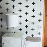 Wall Decals for Stenciled Effects | Apartment Therapy