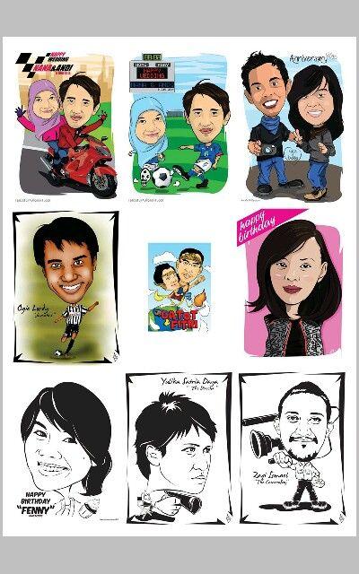 Caricature by request.... digital art... #sukunstudio