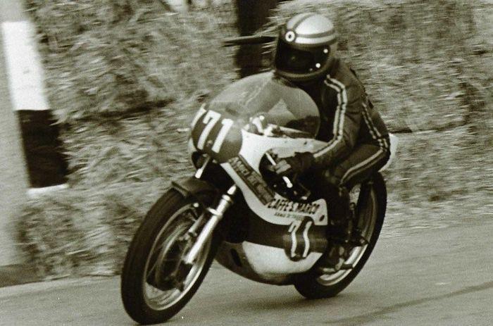 Giacomo Agostini on a MV Agusta