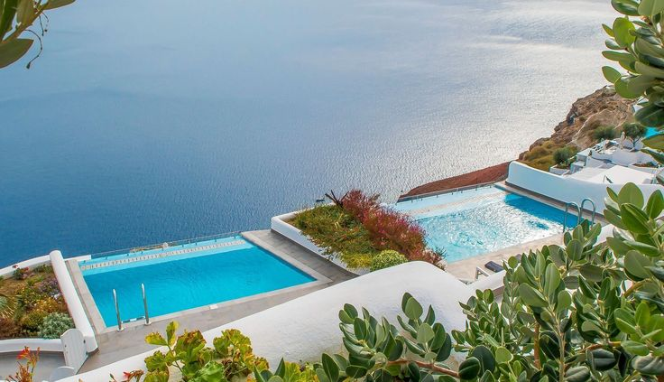 Private pool or hot tub in every suite at Santorini Secret Suites and Spa