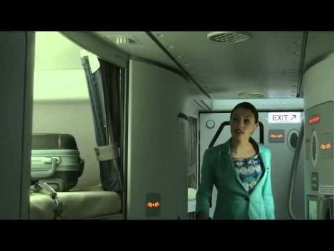 La previa al Primer vuelo en el A380, La Curiosidad de un Niño ...!!!