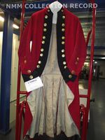 Royal Marines uniform: pattern 1782 - National Maritime Museum