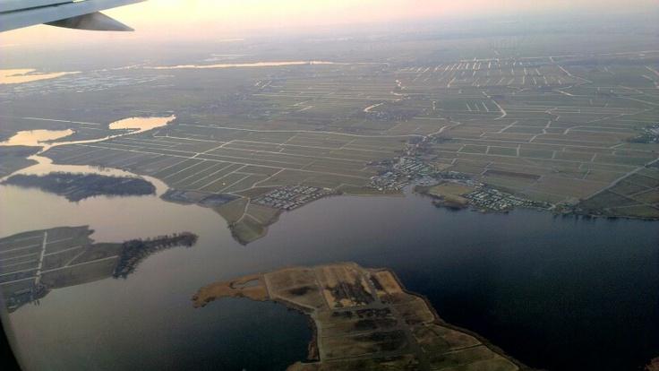 The Netherlands, near Amsterdam & Schiphol AMS
