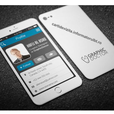 7-iPhone-Business-Card-template