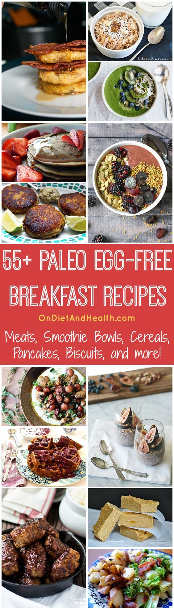 55 Paleo Egg-Free Breakfast Recipes Pinterest