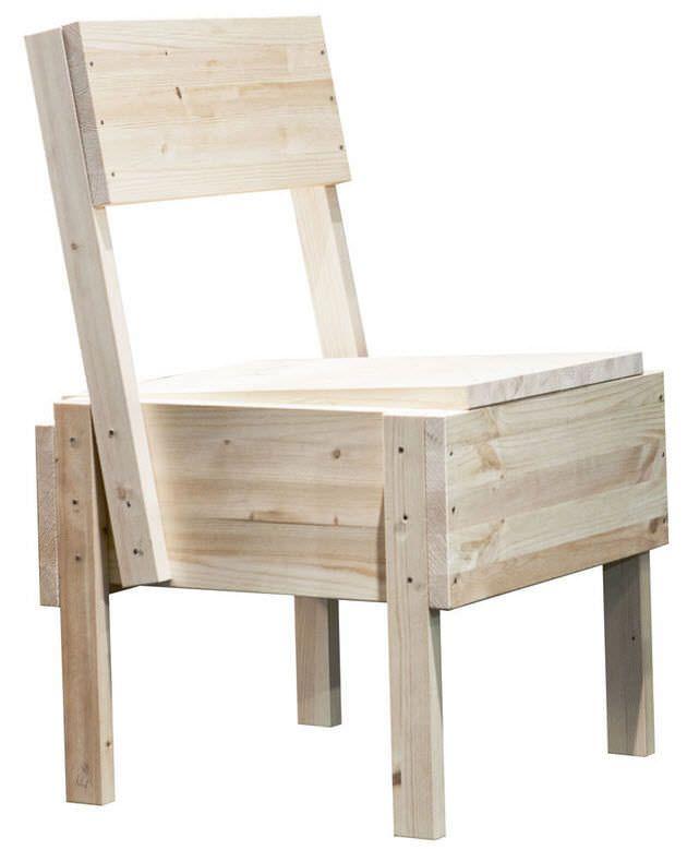 Contemporary chair / in wood / by Enzo Mari - SEDIA 1 - Artek - Videos