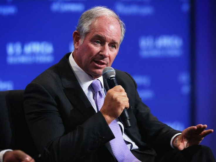 Blackstone Group CEO Stephen A. Schwarzman got his B.A. in 1969, and was a member of Skull and Bones at the same time as George W. Bush. Schwarzman later served as an adjunct professor at the Yale School of Management.