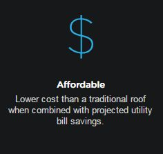 Lower cost than a traditional roof when combined with projected utility bill savings. Ok got a calculator for that? #Tesla #Models #car #Automotive #cars #Autos