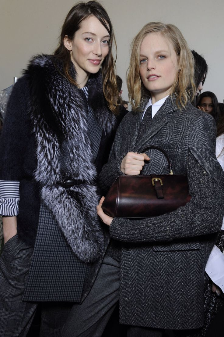 Backstage at Michael Kors A/W 2015