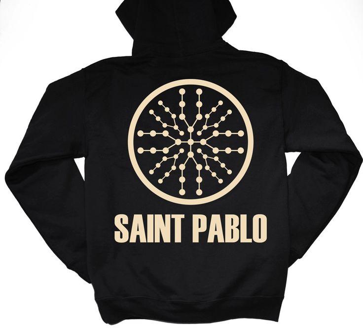 Saint Pablo Tour Merch Hoodie  / Saint Pablo Hoodie / TLOP / IFLP / Kanye West T Shirt Merch / Yeezus Tour / Yeezy / kanye West by LintRollers on Etsy