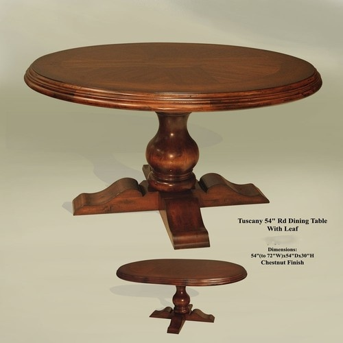 extension dining table distressed chestnut finish 54 72 extensi