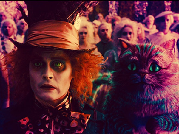 Alice in Wonderland : Mad Hatter & Cheshire cat
