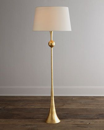 65 best floor lamps images on pinterest circa lighting floor aerin dover gold floor lamp aloadofball
