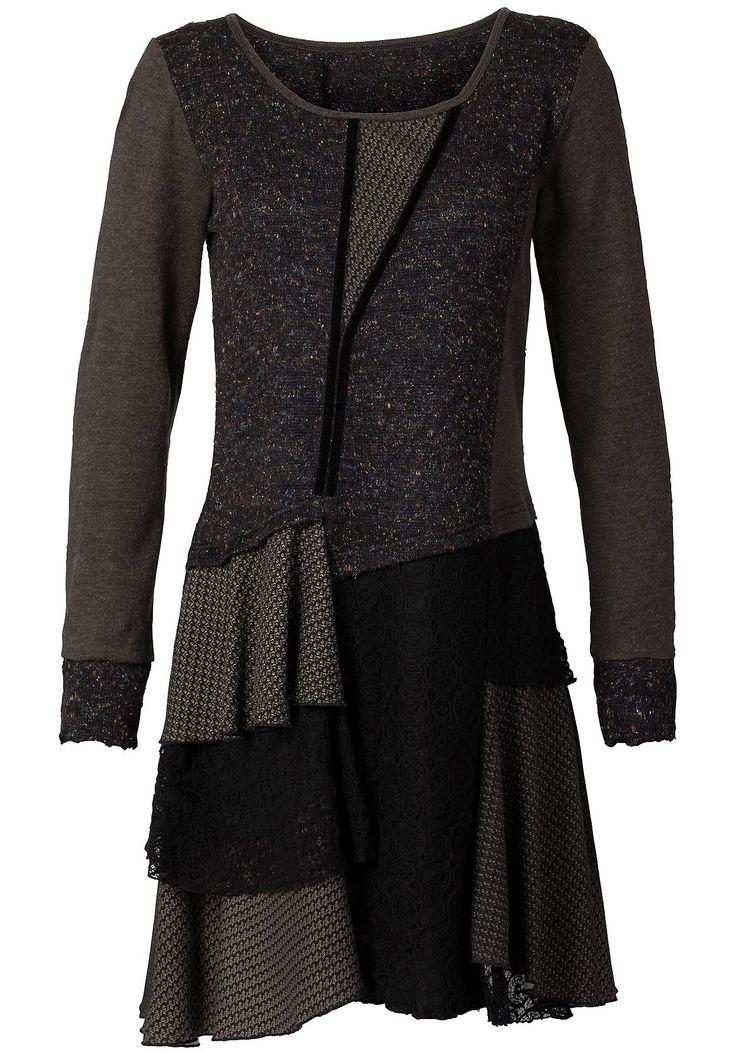 joe browns strickkleid braun schwarz damenmode online kaufen