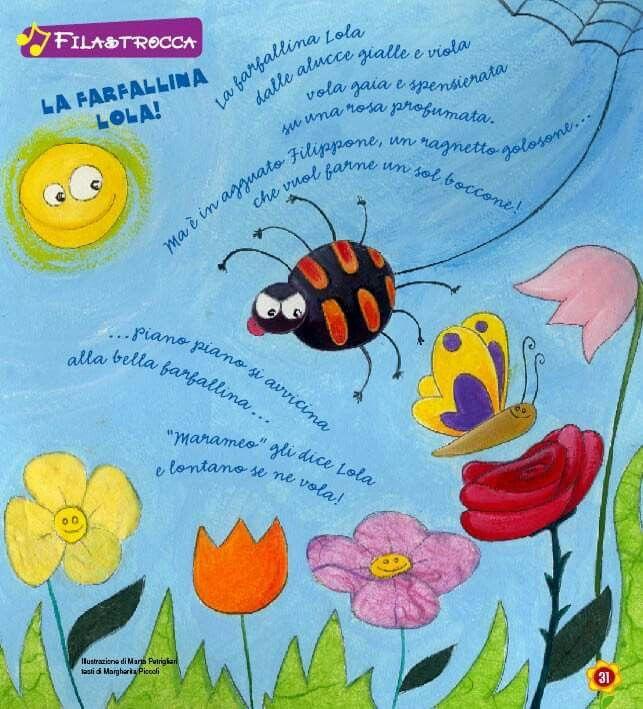 "Filastrocca ""la farfallina Lola"""