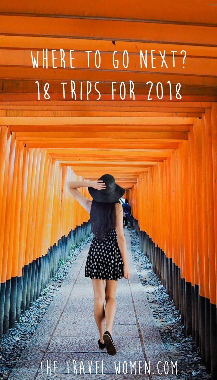 Spotlight on the Greatest New Girls Getaways for 2018. We are all about getaways with the girls here at The Travel Women, but when it comes to trip planning the hardest step can be deciding where to go! Which places will have something for everyone and which places are timely for this year? Click through to see our 18 greatest getaways for 2018! | The Travel Women #girlsgetaways #wheretogo #traveldestinations #wanderlust #placestovisit