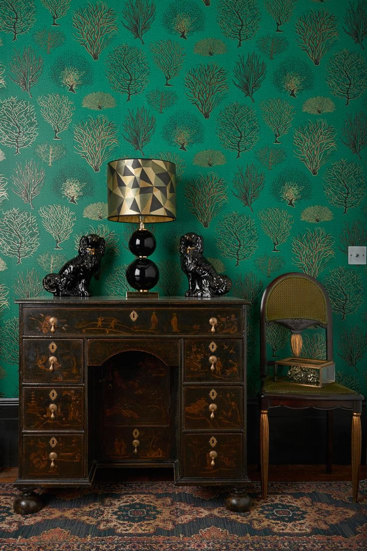 136 best images about cole & son tapeten on pinterest - Deko Tapete Grn