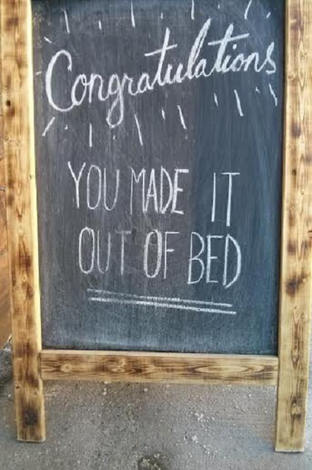 Cheers! Check Out These 20 Very Funny Chalkboard Bar Signs: 20 Very Funny Chalkboard Bar Signs