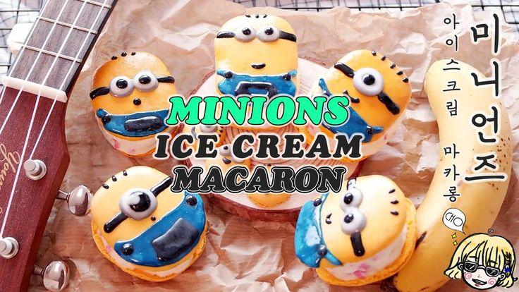 Minions Ice cream Macaron 미니언 아이스크림 마카롱 / 미니언즈 / 슈퍼배드/ Despicable Me /il...