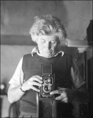 Edna Walling (Self Portrait) one of Australia's finest and most influential landscape designers. She was also a popular writer, a talented photographer and a charismatic personality.